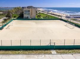 Футбольное поле пляжное